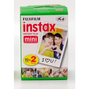 Fuji Instax Mini Film 2 Stück je 10 Bilder (gesamt 20 Bilder)