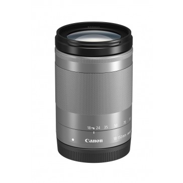 CANON EF-M 18-150mm 1:3,5-6,3 IS STM silber