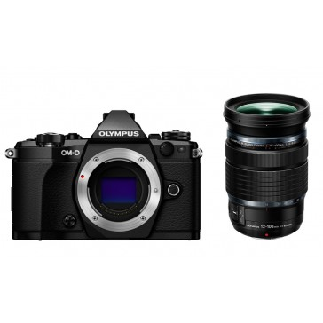 OLYMPUS OM-D E-M5 Mark II Kit 12-100mm schwarz