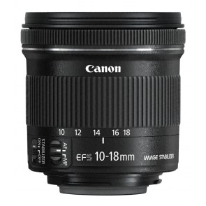 Canon EF-S 10-18mm/F4.5-5.6 IS STM 25,-€ Cashback
