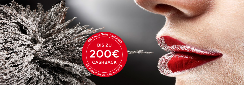 Canon CashBack Objektive 2015