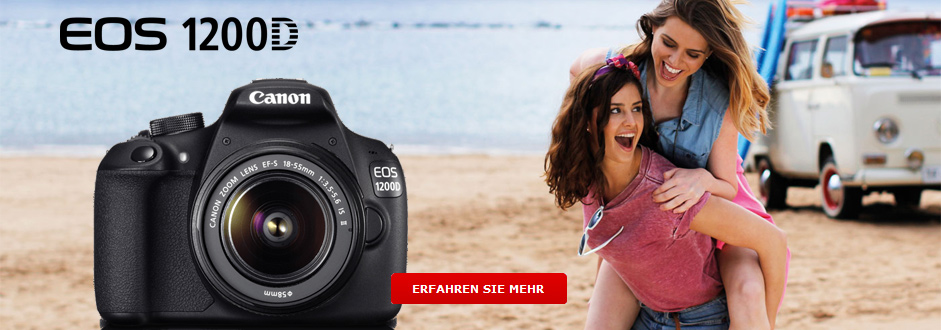 Die neue Canon EOS 1200D