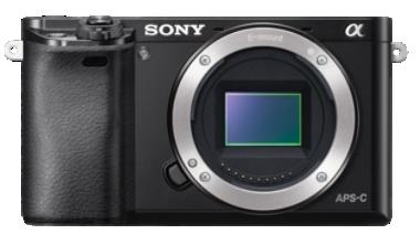 Sony Alpha 6000 Body/Gehäuse schwarz A6000