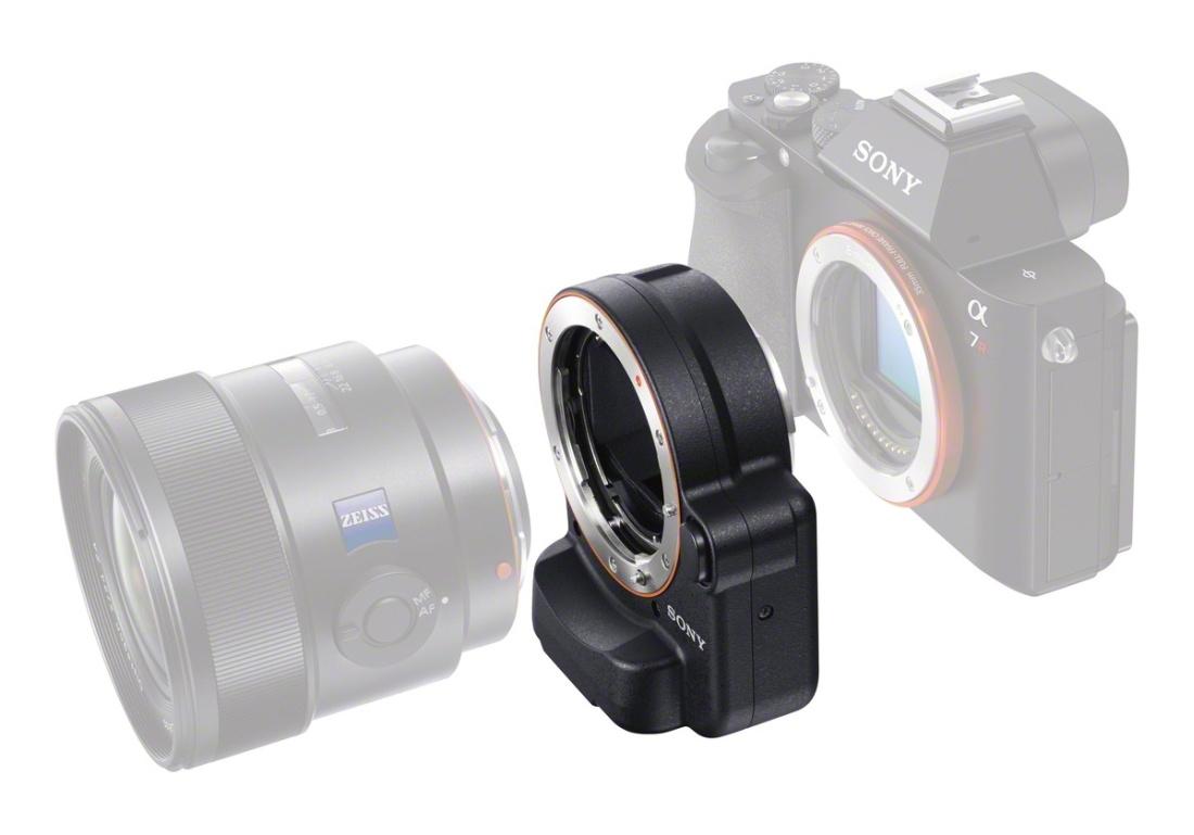 SONY LA-EA4 OBJEKTIVADAPTER A-Mount-Objektive an Alpha 7* Kameras