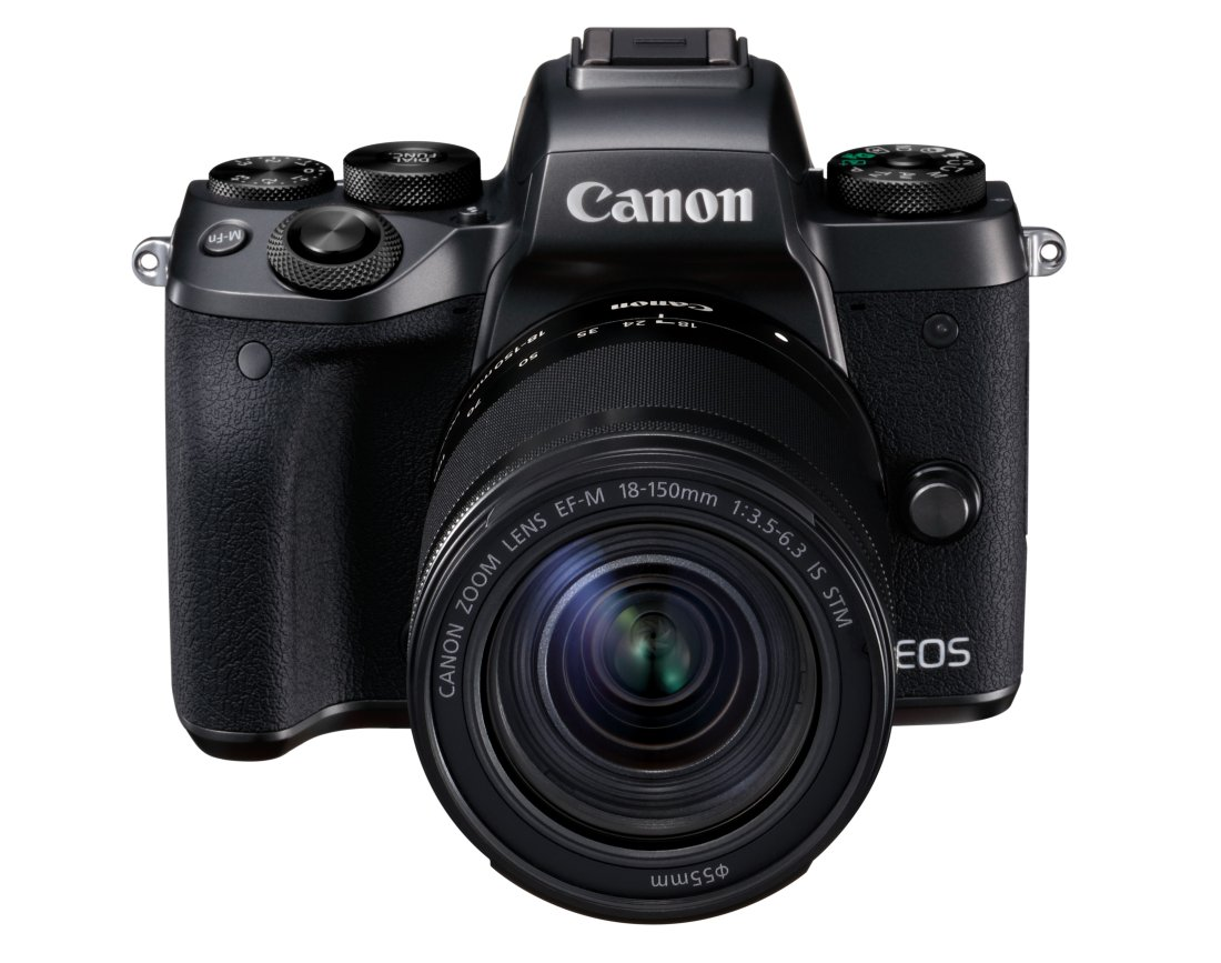 Canon EOS M5 Kit mit 18-150mm IS STM