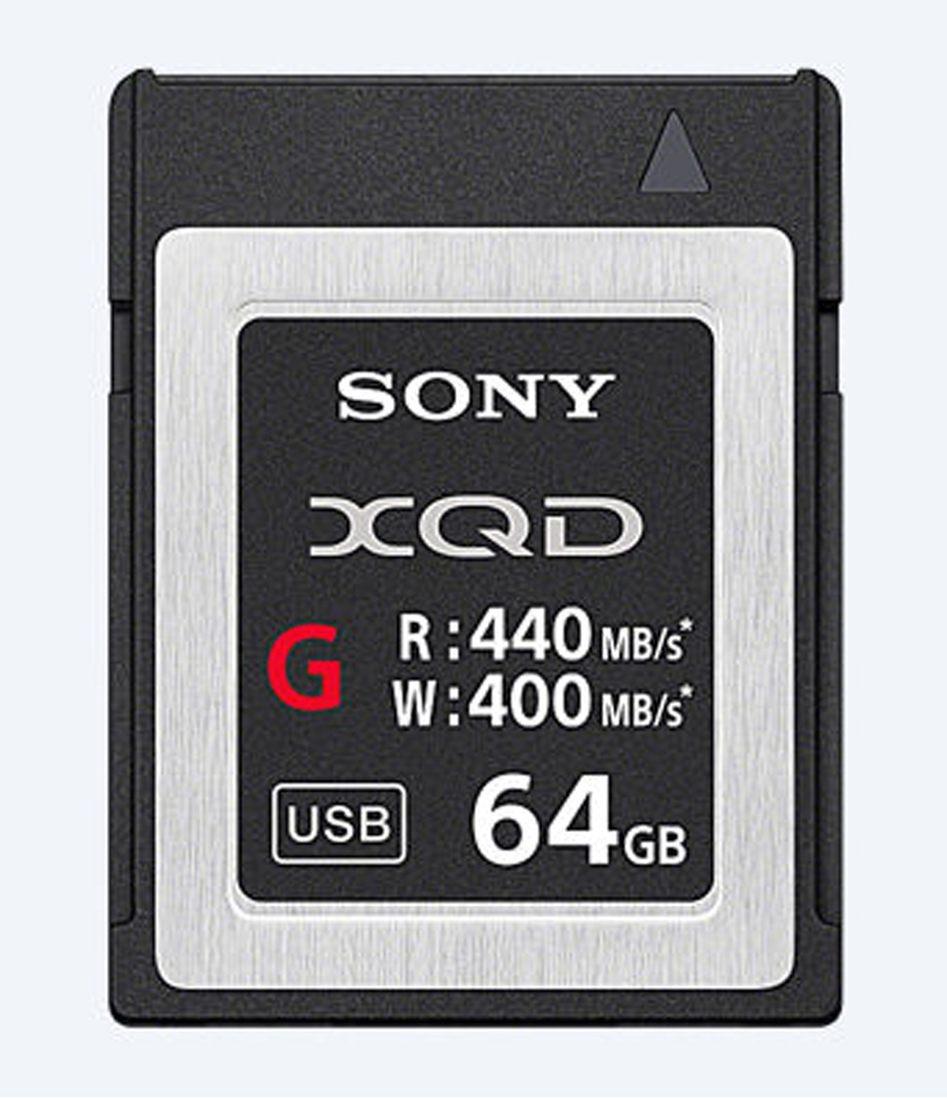 Sony 64GB XQD MemoryCard G-Serie 440 MB/s QD-G64F