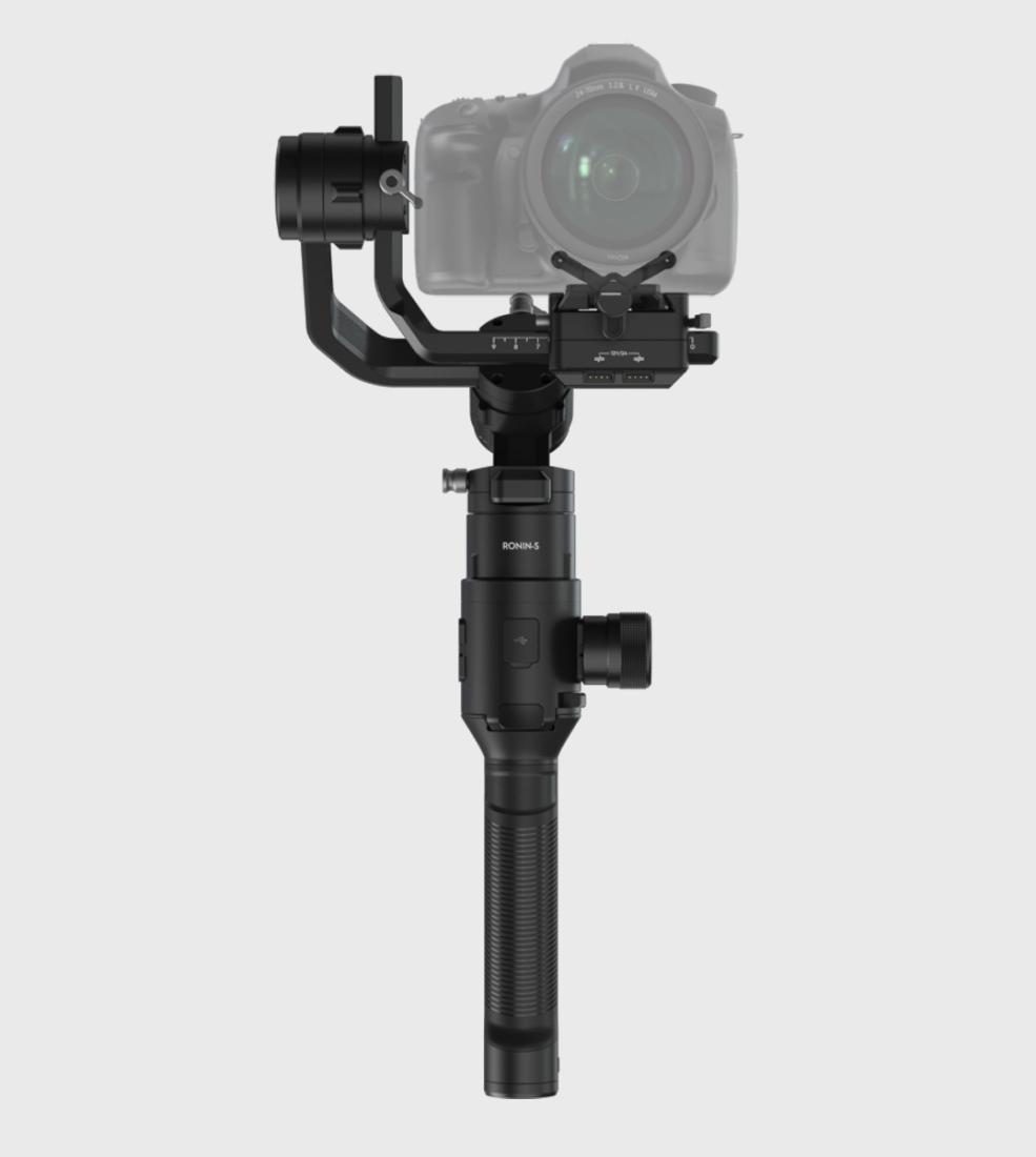 DJI Ronin S Gimbal für DSLR & spiegellose Kameras bis 3,6kg