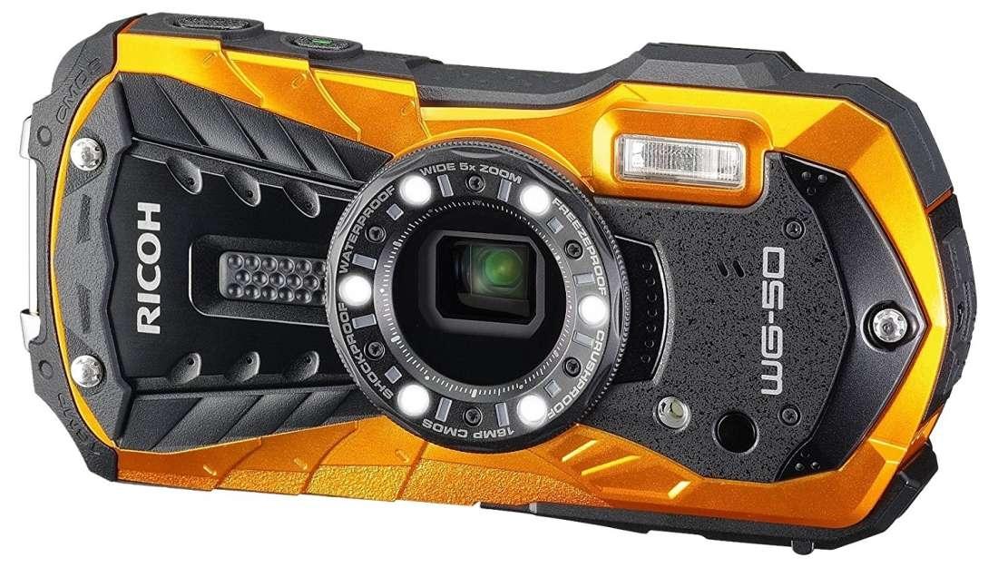 Ricoh WG-50 orange Outdoorkamera
