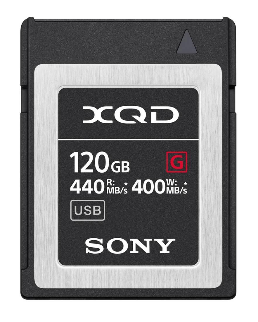 Sony 120GB XQD MemoryCard G-Serie 440 MB/s