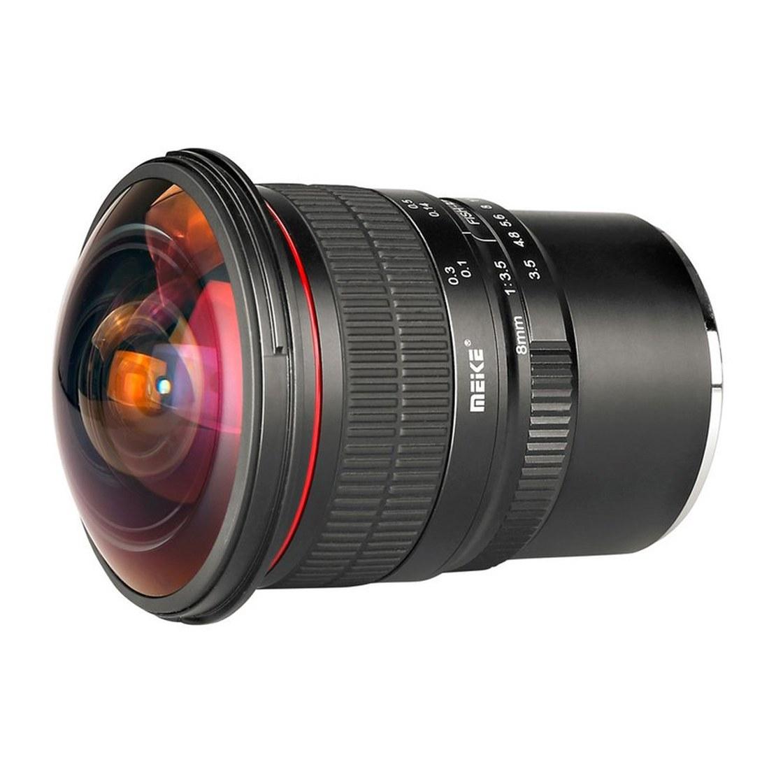 Meike 8mm f3.5 Fisheye Canon M
