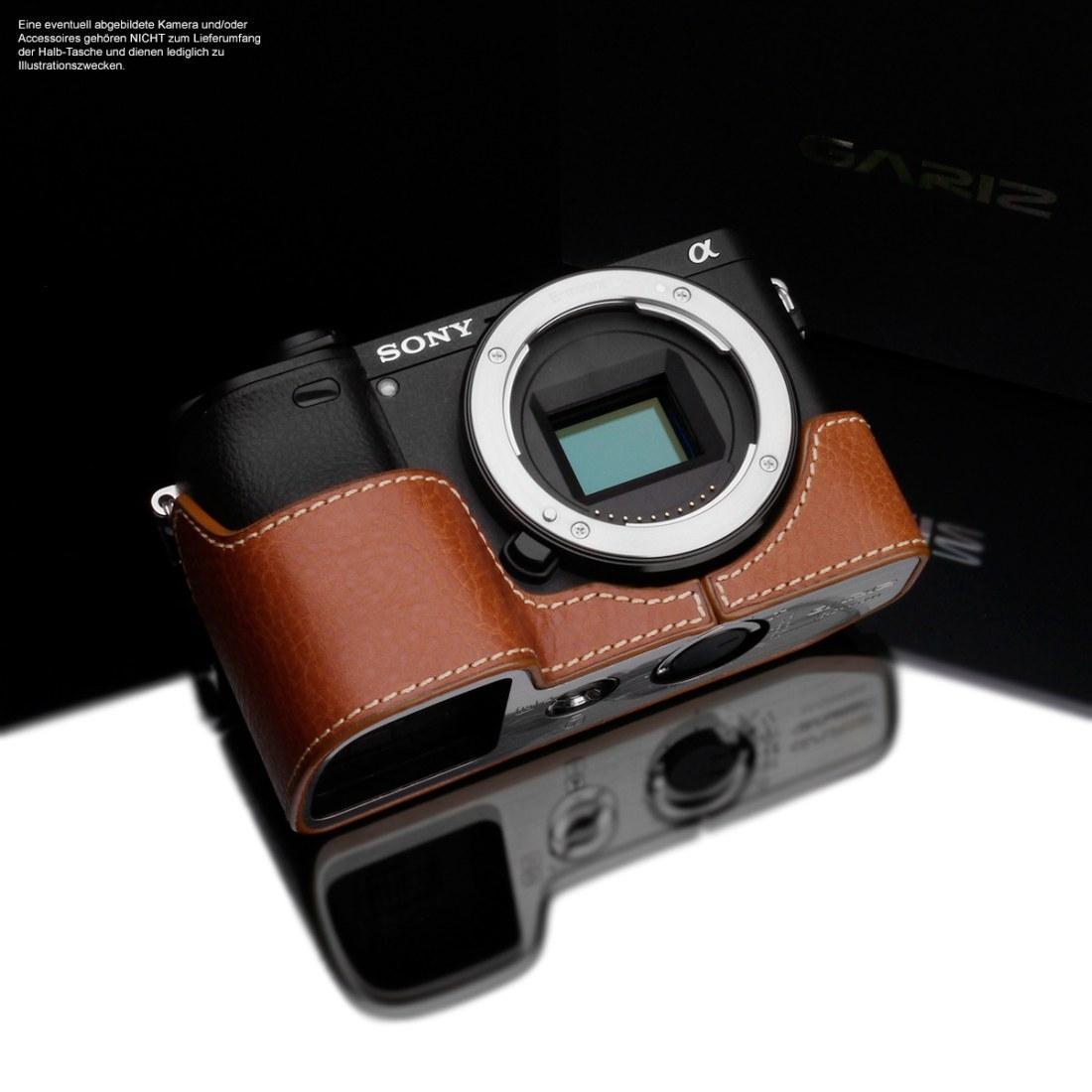 Gariz Kameratasche für Sony A6300/A6400 camel (XS-CHA6300CM)