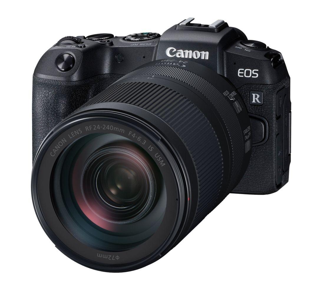 CANON EOS-RP Kit RF 24-240mm IS USM Vollformat-Systemkamera