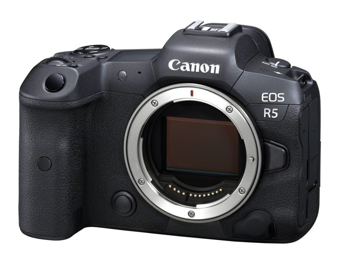 CANON EOS-R5 BODY Vollformat-Systemkamera