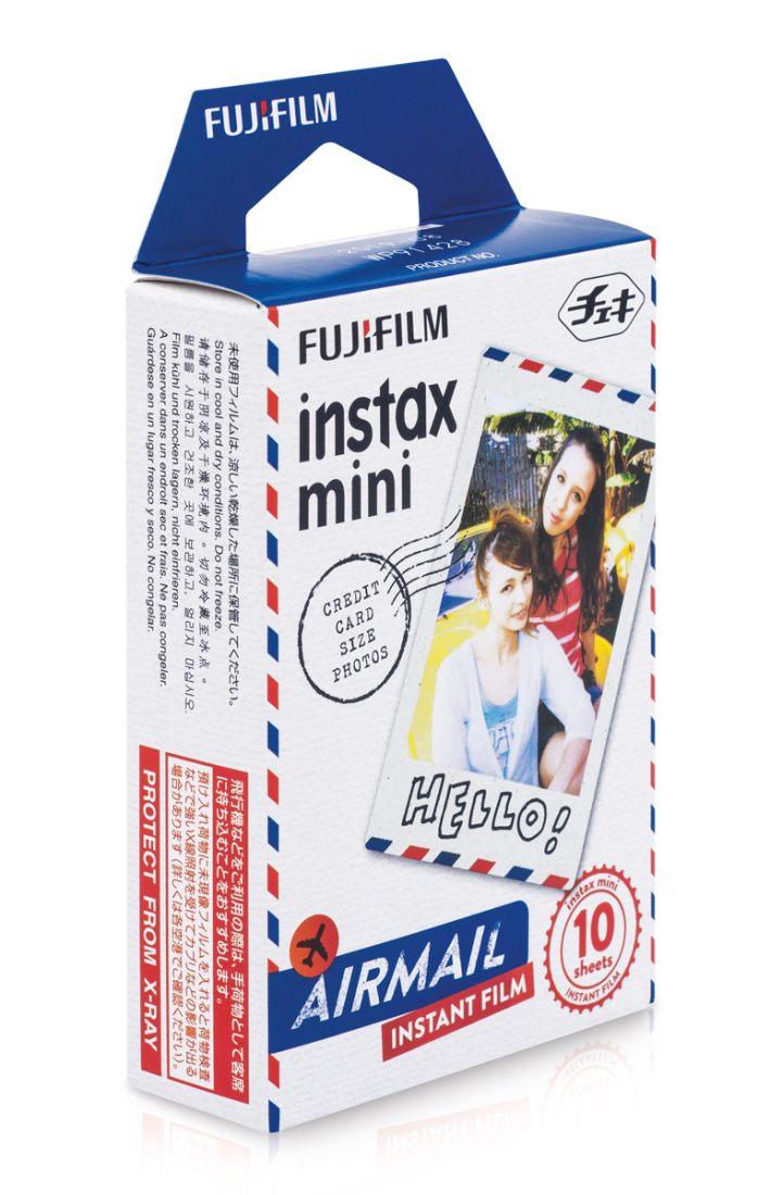 Fuji Instax Mini Film Airmail 10 Aufnahmen