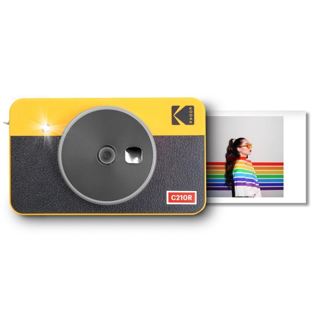 Kodak Mini Shot 2 Combo Retro Sofortbildkamera gelb