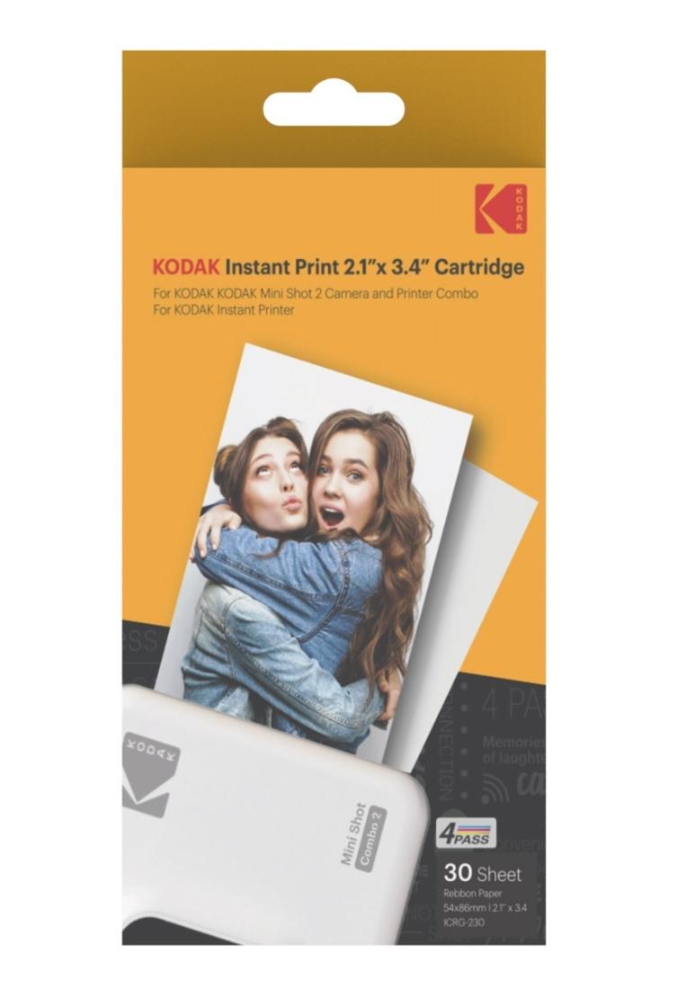 Kodak Print-Kartuschen ICRG-230 3x 10 Fotos für Mini Shot 2 Kamera