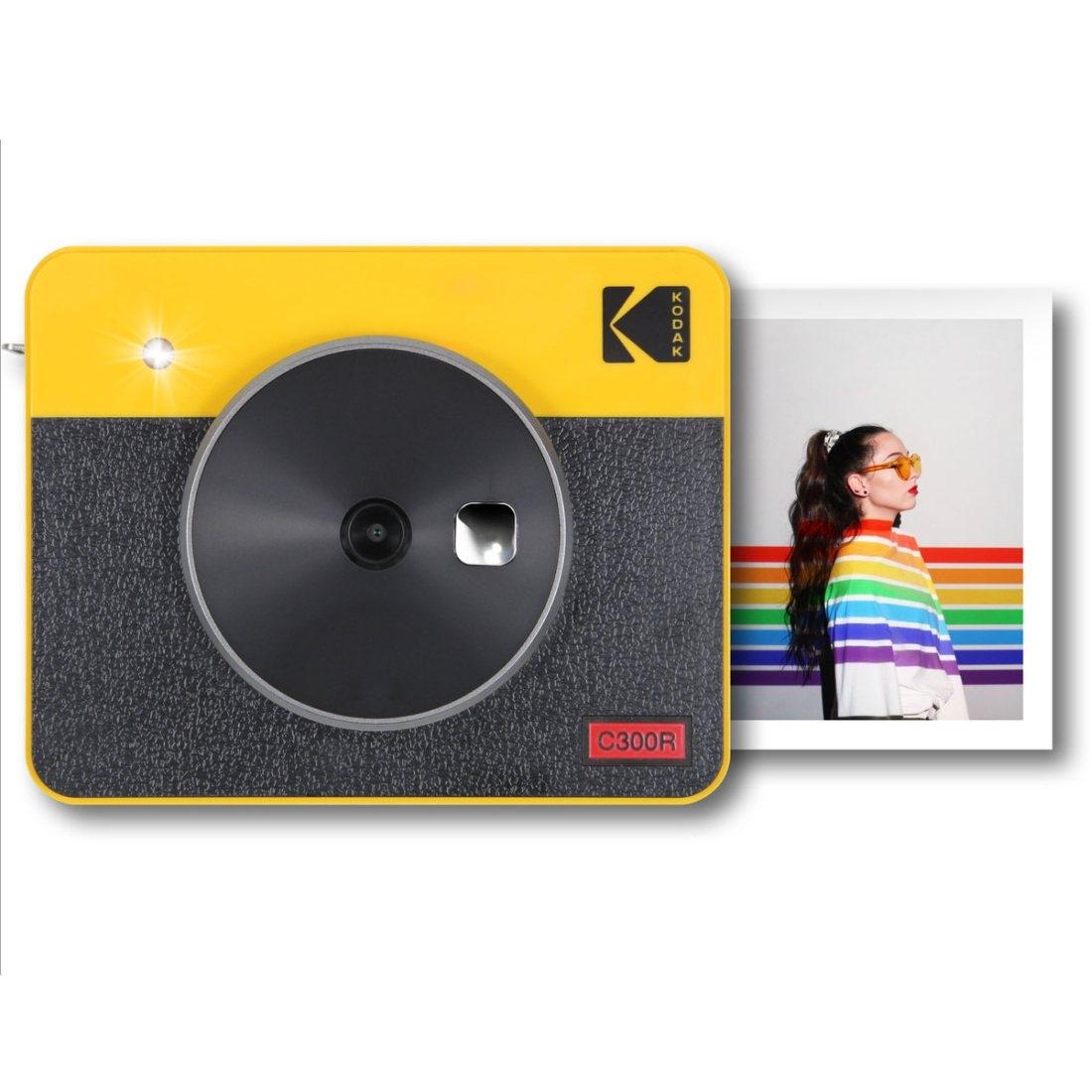 Kodak Mini Shot 3 Combo Retro Sofortbildkamera gelb