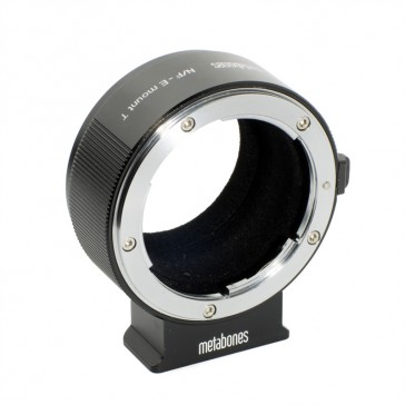 Metabones Adapter Nikon F an SONY E-Mount II T (MB_NF-E-BT2)