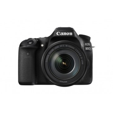 Canon EOS 80D Kit mit 18-135mm IS USM Nano