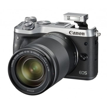 Canon EOS M6 Kit mit 18-150mm silber