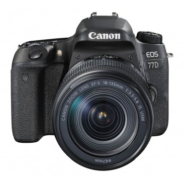 CANON EOS 77D Kit mit 18-135mm IS USM