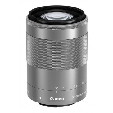 CANON EF-M 55-200mm/F4.5-6.3 IS STM silber