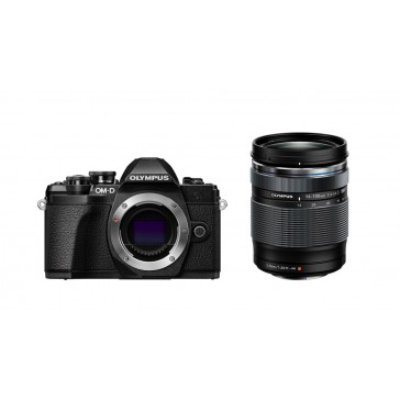 OLYMPUS OM-D E-M10 Mark III + 14-150mm Kit schwarz + Gratis 45mm Objektiv