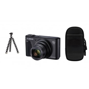 CANON PowerShot SX740 HS Travel Kit schwarz