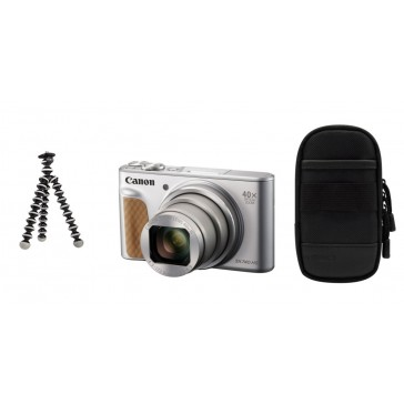 CANON PowerShot SX740 HS Travel Kit silber 30,-€ Cashback