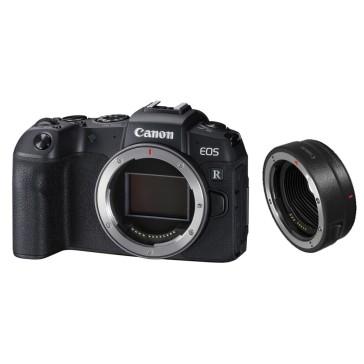 CANON EOS-RP BODY Vollformat-Systemkamera mit EF-EOS R Adapter - 150 Euro Sofortrabatt = 1149,00 Effektivpreis