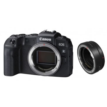 CANON EOS-RP BODY Vollformat-Systemkamera mit EF-EOS R Adapter