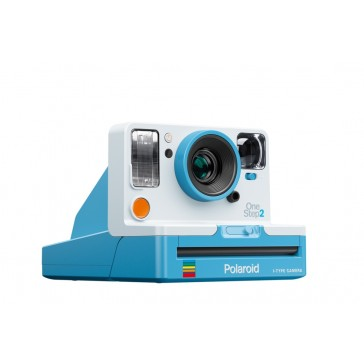 Polaroid OneStep 2 VF summerblue Sofortbildkamera für Polaroid 600 & i-Type Film