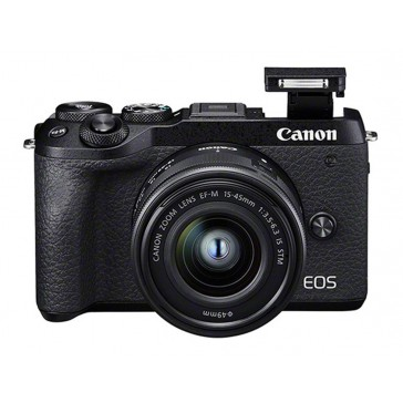 Canon EOS M6 Mark II Kit mit 15-45mm + EVF-DC2 Sucher