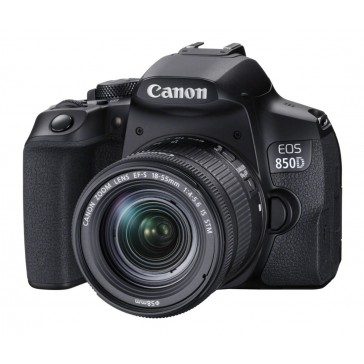 Canon EOS-850D Kit mit 18-55mm IS STM