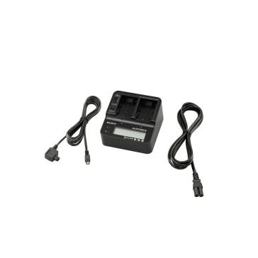 Sony AC-VQV10 Ladegerät mit Schnellladefunktion für Akkus der V-, H - und P - Serie