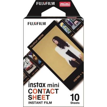 Fuji Instax Mini Film Contact Sheet 10 Bilder