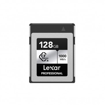 LEXAR Professional 128GB CFexpress Type B 1000MB/s Silver Serie