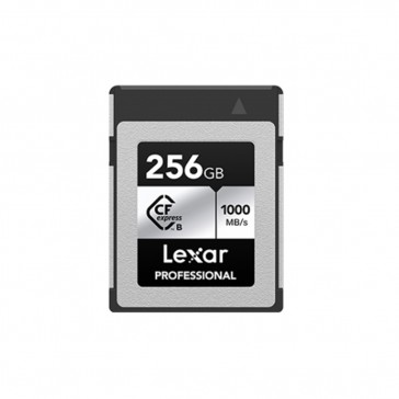 LEXAR Professional 256GB CFexpress Type B 1000MB/s Silver Serie