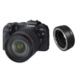 CANON EOS-RP Kit RF 24-105mm L IS USM Vollformat-Systemkamera + EF-EOS R Adapter abzüglich 100 Euro Sofortrabatt = 1849,00 Euro