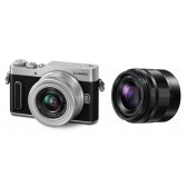 PANASONIC DMC-GX880W EG-S Kit 12-32mm + 35-100mm silber