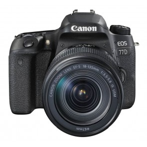 CANON EOS 77D Kit mit 18-135mm IS USM 100,-€ Cashback