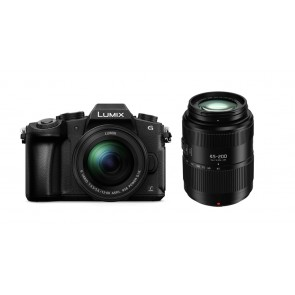 Panasonic DMC-G81W EG-K Kit 12-60mm + 45-200mm
