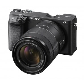 SONY Alpha ILCE-6400 Kit mit 18-135mm Black Sale