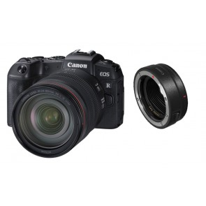 CANON EOS-RP Kit RF 24-105mm L IS USM Vollformat-Systemkamera + EF-EOS R Adapter