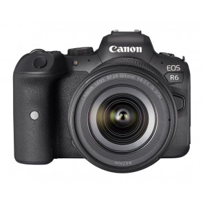 CANON EOS-R6 Kit mit RF 24-105mm IS STM Vollformat-Systemkamera Canon Cashback 300 Euro
