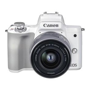 Canon EOS M50 II Kit mit 15-45mm weiß
