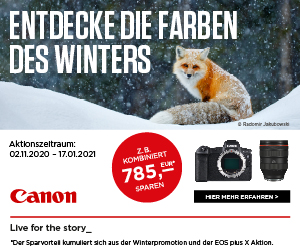 Canon SOFORT-RABATT - bis zu 300 € sparen
