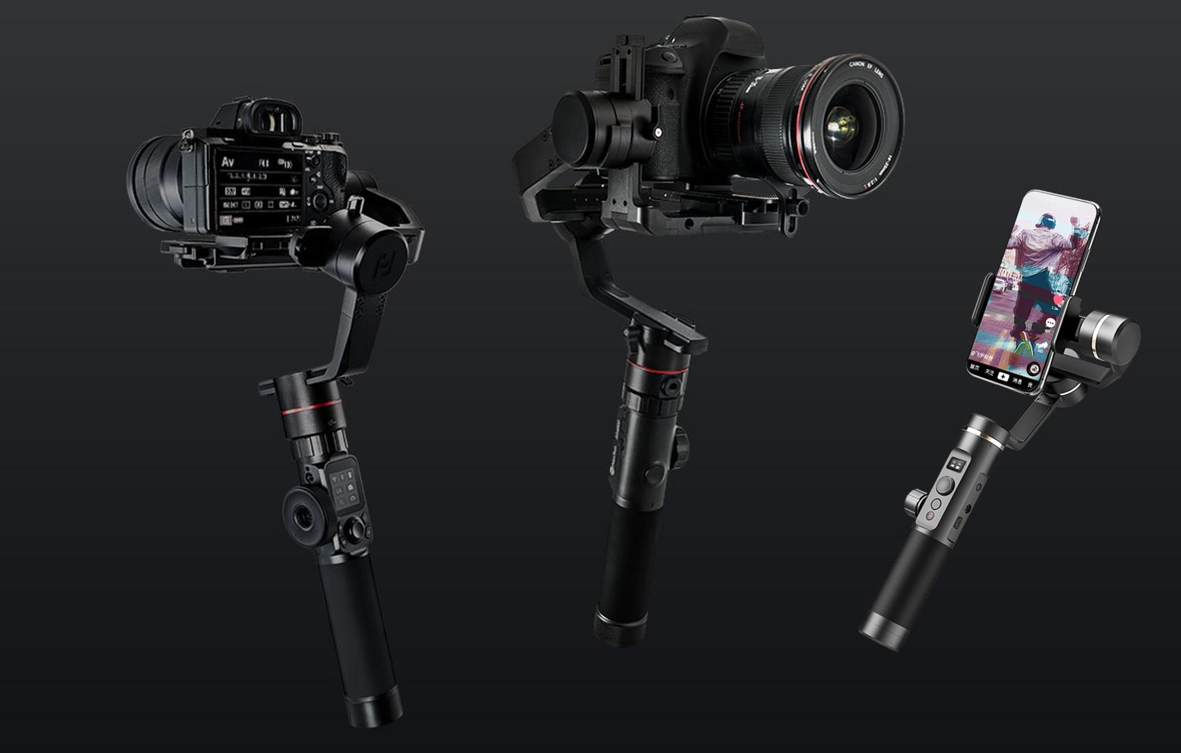 FeiyuTech Gimbals AK2000 und AK4000