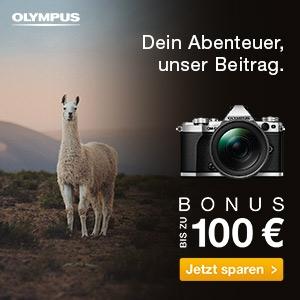 Olympus Cashback 2018 - Bonus