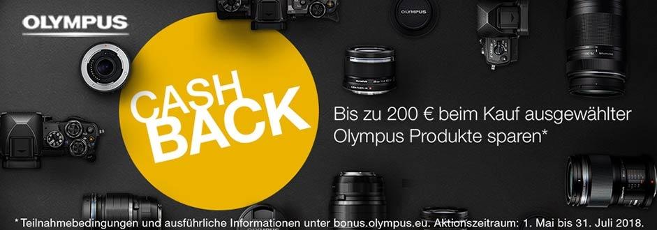 Olympus Cashback 2018 - Sommer